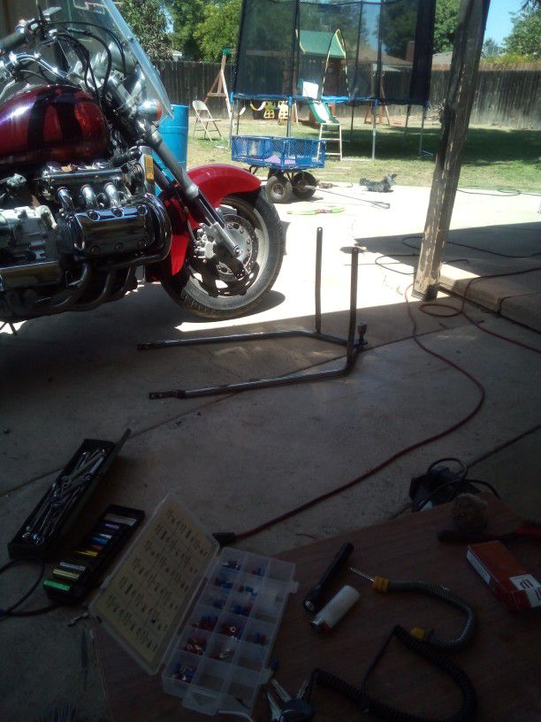 Photo Motorcycle Tow Bar For Goldwing Harley You Can Fix Bike Its Universal