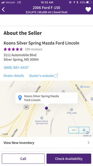 2006 Ford F-150 for Sale in Silver Spring, MD
