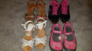 Girls size 11 and size 12 shoes for Sale in Manassas Park, VA