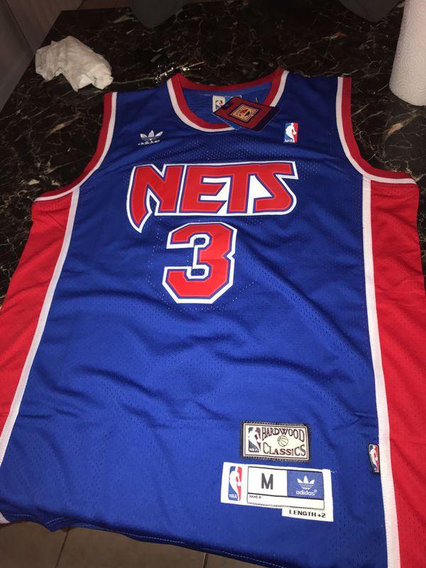 6eb13f71183 ... new jersey nets nba hardwood classics throwback swingm basketball jersey  world 9eea3 4a7ca; usa nets drazen petrovic jersey size medium 70e89 62948