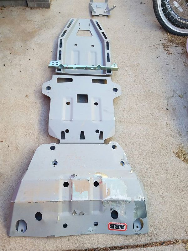 Used 4runner For Sale >> ARB Skid Plates for 120 Toyota platform 4th/ 5th gen ...