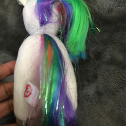 "6"" TY pony stuffed animal Thumbnail"