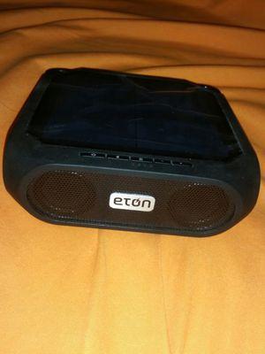 Eton Rugged rukus The solar-powered, Bluetooth-ready, smartphone-charging speaker for Sale in Orlando, FL