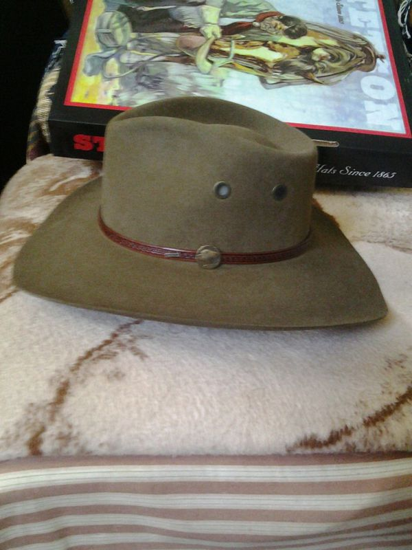 STETSON GREAT PLAINS BUFFALO NICKEL HAT 7 1 8 R NIB for Sale in El Paso 6fff9daa678
