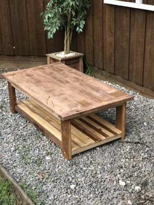 Solid Reclaimed Wood Coffee Table Farmhouse Rustic Modern For In Allen Tx