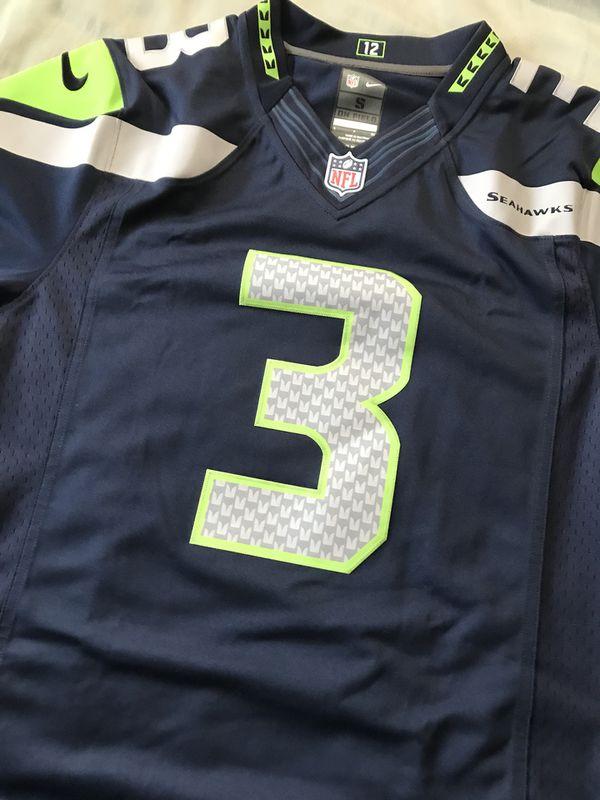Seattle Seahawks Nike Russell Wilson Jersey for Sale in Honolulu, HI