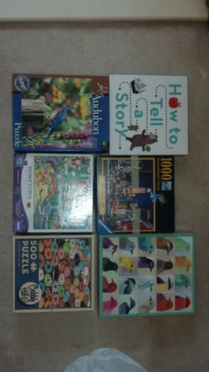 Puzzles and games 5$ all for Sale in Alexandria, VA