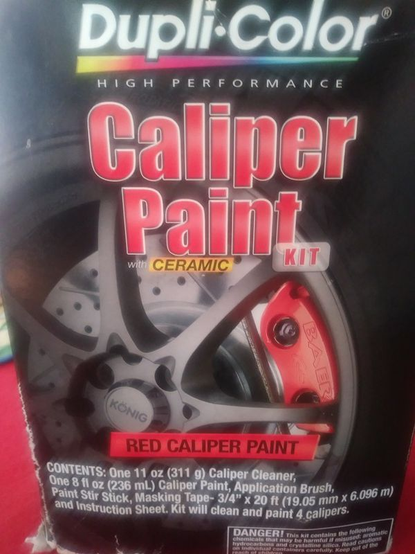 Duplicolor Caliper Paint Kit For Sale In Broken Arrow Ok Offerup