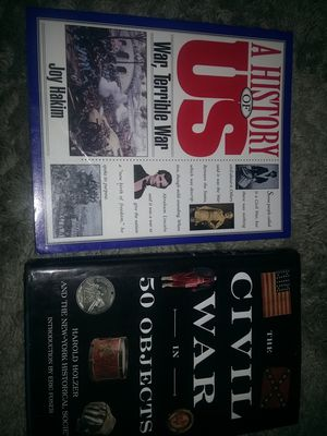 The Civil War in 50 objects, a history of US War, terrible War for Sale in WA, US