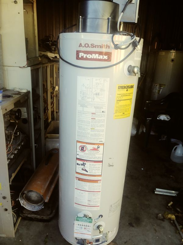 ao smith gas water heater. Power Vent Ao Smith 40 Gallon Gas Water Heater For Sale In Southfield, MI - OfferUp
