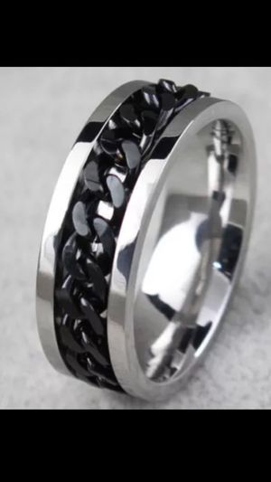 SPINNER MENS TITANIUM SPINNING CHAIN LINK BAND for Sale in Phoenix, AZ