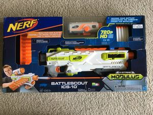 Nerf N-Strike Modulus Battlescout ICS-10 Kids Toy Christmas Gift for Sale in Milpitas, CA