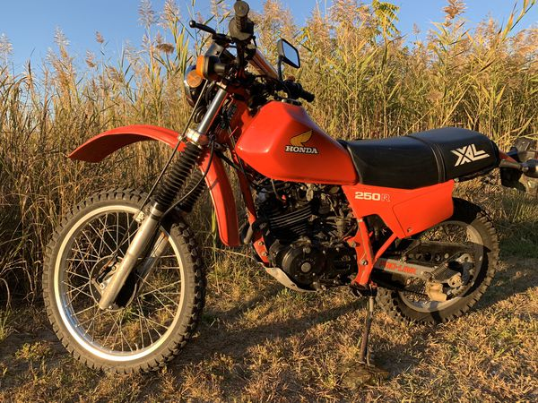 1982 honda xl 250 r