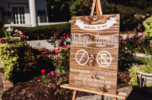 Unplugged ceremony sign - no cell phones - wedding for Sale in Chicago, IL