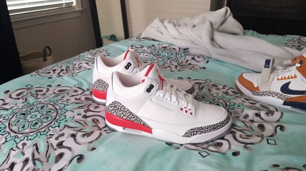 b1b22cd76149b1 New Katrina Nike Jordan 3 SZ 9 for Sale in Charlotte