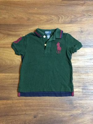 Polo by Ralph Lauren Red, Blue & Green Polo Shirt Boy's Kids Size 4 Clothes for Sale in Charlotte, NC