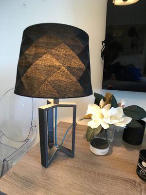 Modern Desk / Table Lamp with Mirror-top Light Bulb for Sale in Atlanta, GA