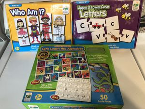 Kids puzzles games for Sale in San Diego, CA