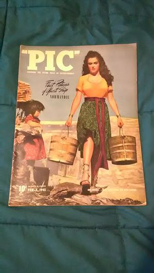 Pic Magazine 1941 February Jane Russell for Sale in UT, US
