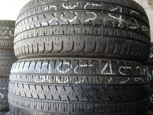 Photo Sale 2 used tires 285.45 22 Bridgestone