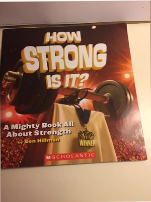 What's the Big Idea?: How Strong Is It? A Mighty Book All about Strength by Ben Hillman for Sale in Silver Spring, MD