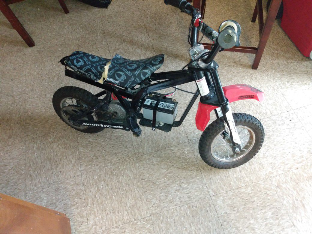 Photo Electric Dirt Bike Pick Up Only Just Pick Up Only It Doesnt Run It Needs A Battery No Questions Asked Please Pick Up How You See Thats All If You Wa