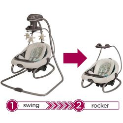 Graco Duet And Soothe Swing And Rocker Thumbnail