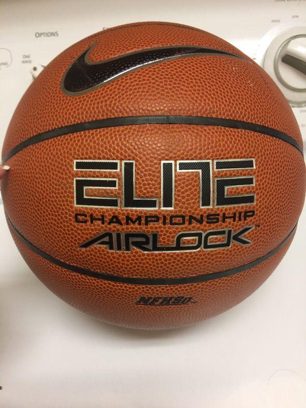 hot sale online e2adb e6b6a Nike Elite Champion Airlock basketball 28.5 intermediate for Sale in Elk  Grove, CA - OfferUp