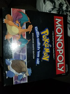 Monopoly pokemon kanto edition gamestop