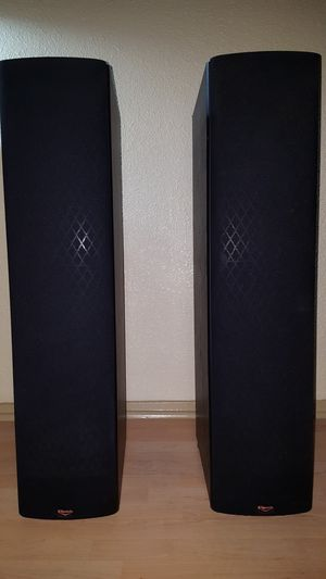 KLIPSCH SF3 8 OHM 100 WATT PAIR L & R FLOOR SPEAKERS -EXCEPTIONAL, #1 IN AUDIO for Sale in Houston, TX