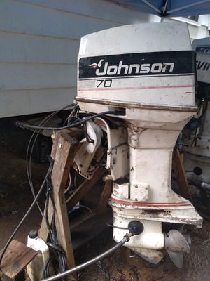 Johnson 75hp outboard motor for Sale in Springdale, MD