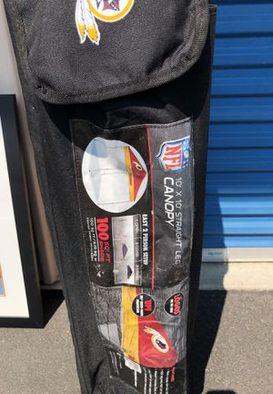 10 x 10 Redskins Canopy tent for Sale in Bowie, MD