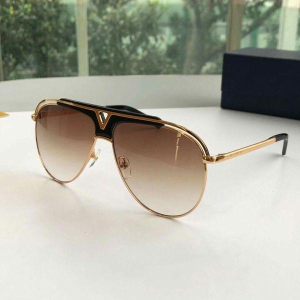 5f1d731a0b Louis Vuitton Tonca Gold and Brown Designer Sunglasses for Men or Women