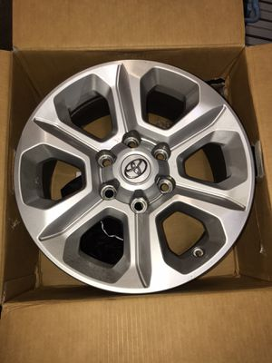 Photo Toyota rims 17 inch set of 4
