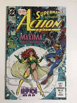 DC Comics  - Action Comics #651 Thumbnail