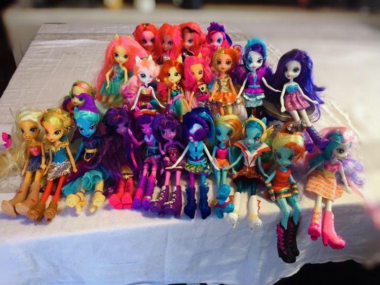 MLP Equestrian girls lot