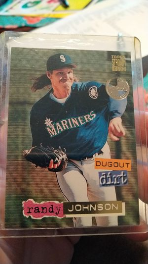 747b96700a Randy Johnson 1994 Topps Stadium club dugout Dirt Members only factory set  Baseball card for Sale