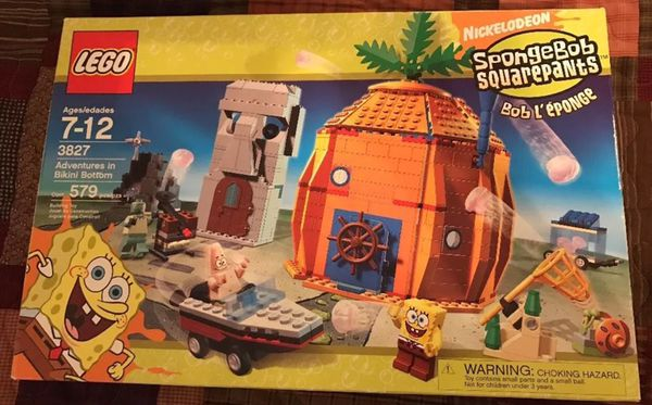 Lego 3827 Sponge Bob Square Pants Adventures In Bikini Bottom For