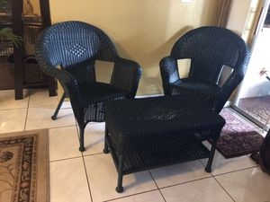 Dark Green patio furniture for Sale in Pompano Beach, FL