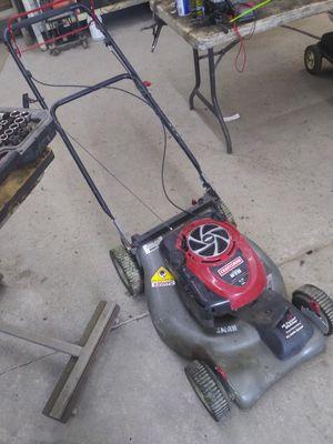 Photo Craftsman 190cc mower hi tunnel Mulcher 21 cut