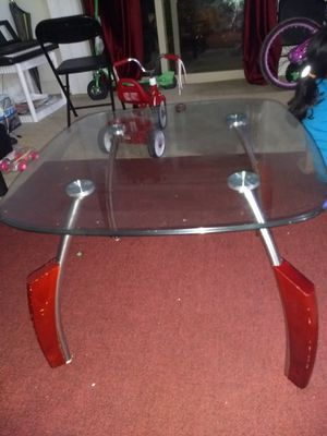 Glass coffee table for Sale in Merrifield, VA