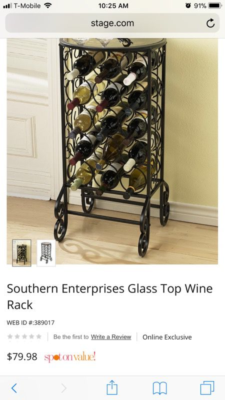 Glass Top Wine Rack Furniture In Houston Tx Offerup