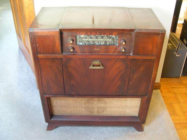 1948 1949 Vintage Philco Radio Console Model 48 1282 For Sale In