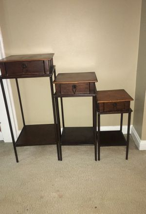 3 Tables (Large, Medium, Small) for Sale in Fort Belvoir, VA