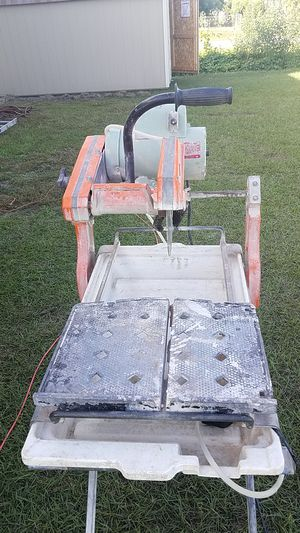 Wet Tile Saw/ Pavement Saw for Sale in Kissimmee, FL