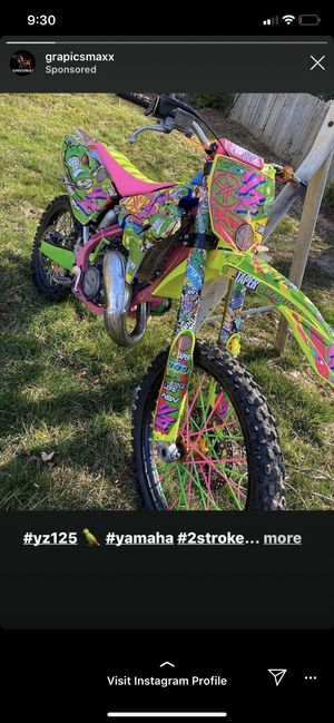 Photo ISO: dirt bike (not for sale and not my picture )