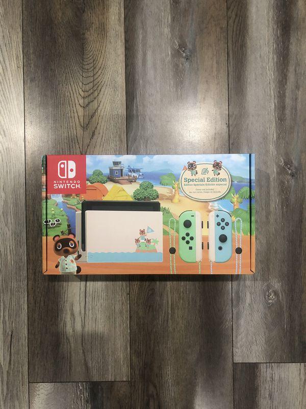 Nintendo Switch Console - Animal Crossing: New Horizons ...