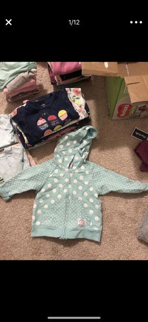 6-18months baby clothing and one big bag toys for Sale in Holly Springs, NC