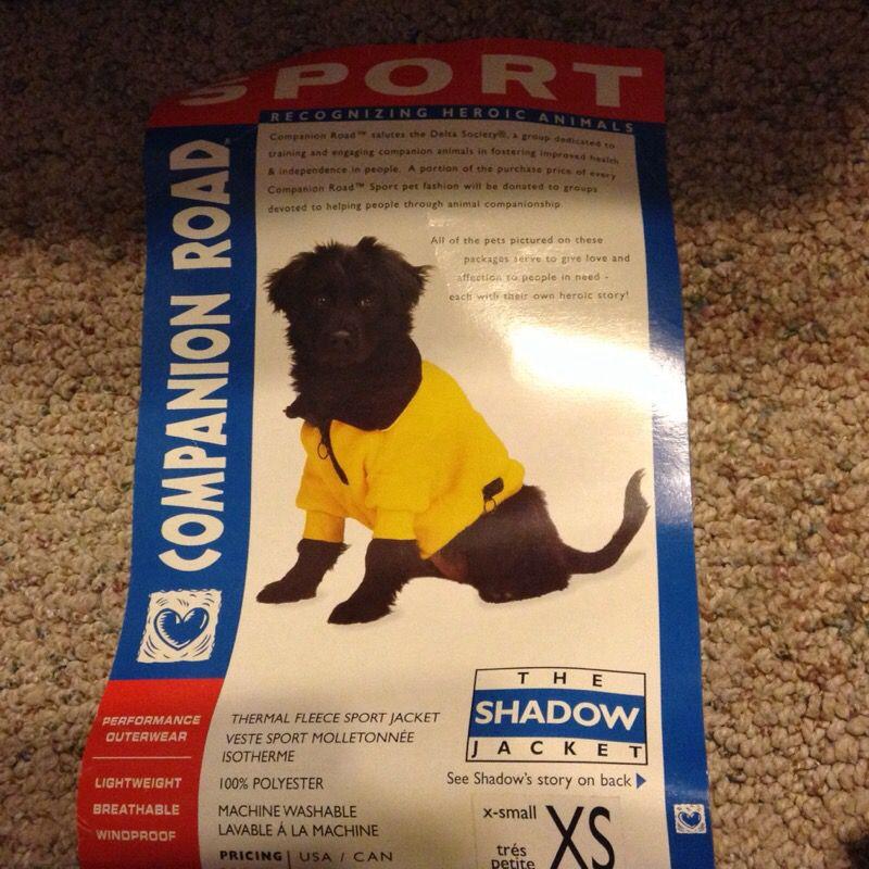 Shadow dog jacket
