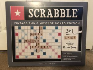 BRAND NEW Scrabble game and message board for Sale in Baltimore, MD